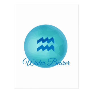 Water Bearer Postcard