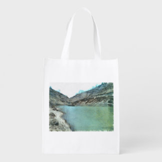 Water body in the Himalayas Market Totes