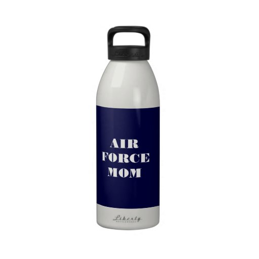 Water Bottle Air Force Mom