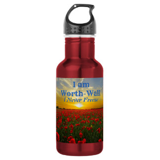 Water Bottle Red