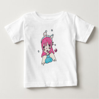 water bubble disolving chibi baby T-Shirt