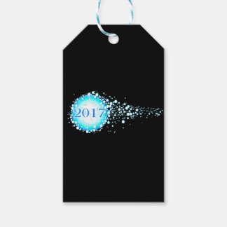 Water Bubbles 2017 Gift Tags