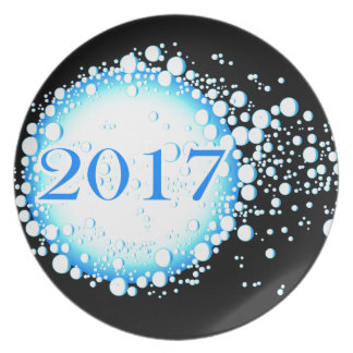 Water Bubbles 2017 Plate