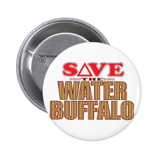 Water Buffalo Save 2 Inch Round Button