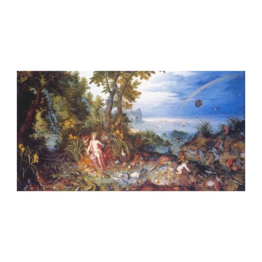Water, by Jan Brueghel the Elder Stretched Canvas Prints