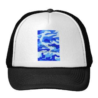 Water Camo Hats