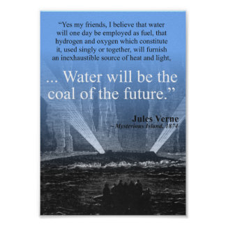 Water...coal of the future - Poster