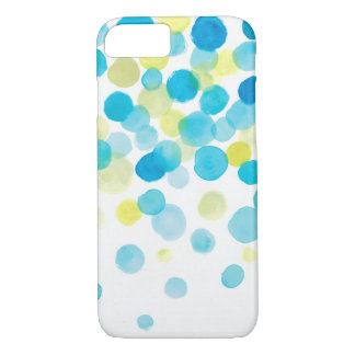 water color, blue green yellow iPhone 8/7 case