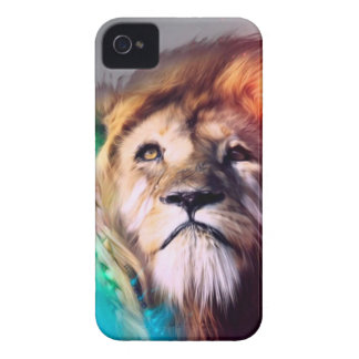 Water color lion iPhone 4 covers