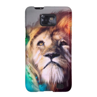 Water color lion samsung galaxy s2 covers