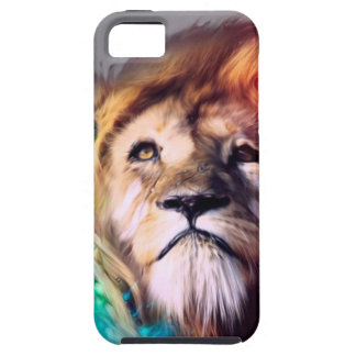 Water color lion iPhone 5 covers
