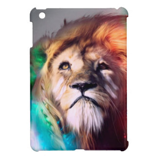 Water color lion case for the iPad mini
