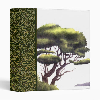water color tree scrapbook 3 ring binders