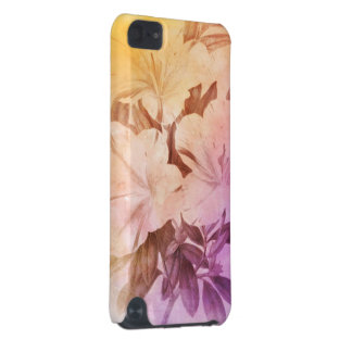 Water Color Vintage Flowers iPod Touch (5th Generation) Case