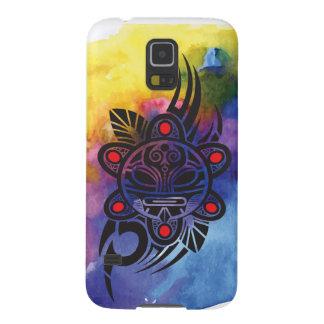 Water colored Sun God Samsung Galaxy 5 Case