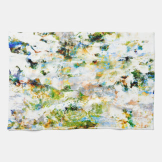 Water colour, grunge rustic graphic design art towels