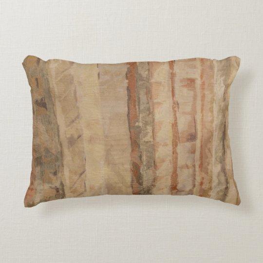 Water Colours Tans Decorative Pillow