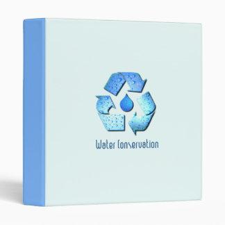 Water Conservation Binder