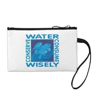 Water Conservation Change Purses