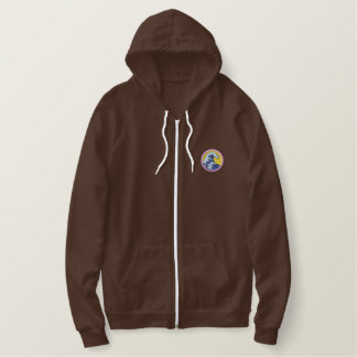 Water Conservation Embroidered Hoodie