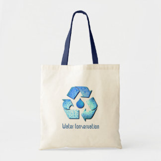 Water Conservation Tote Bag