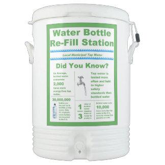 Water Cooler Bottle Refill Station