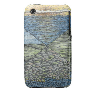 Water Cycling   iPhone 3 Case   Customizable  