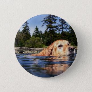 Water Dog - Button
