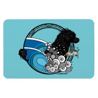 Water Dog Nouveau Magnet