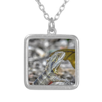 WATER DRAGON AUSTRALIA ART EFFECTS SILVER PLATED NECKLACE