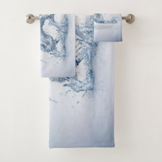 Water Dragon Bathroom Towel Set