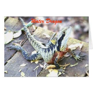 Water Dragon Card
