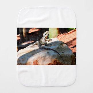 WATER DRAGON QUEENSLAND AUSTRALIA BURP CLOTH
