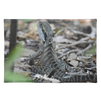 WATER DRAGON QUEENSLAND AUSTRALIA PLACEMAT