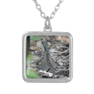 WATER DRAGON QUEENSLAND AUSTRALIA SILVER PLATED NECKLACE