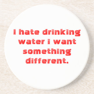 water drink coaster