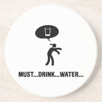 Water Drinker Coaster