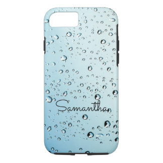 Water Droplets Sweat Drips iPhone Case