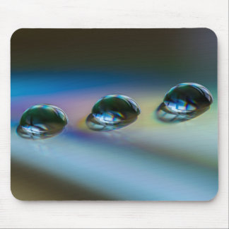 WATER DROPS by Michelle Diehl Mouse Pad