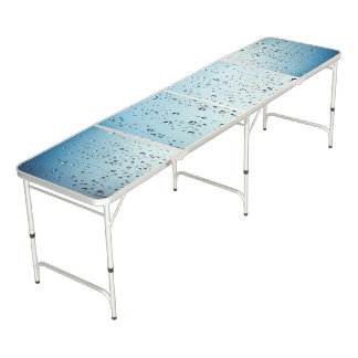 Water Drops Illusion Pong Folding Table Pong Table