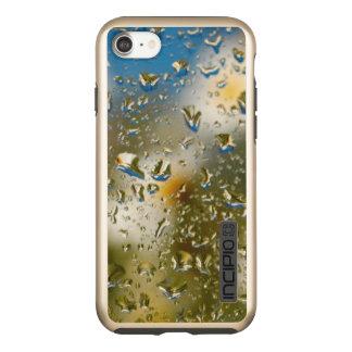 Water drops iPhone 7 DualPro Shine, Gold Incipio DualPro Shine iPhone 8/7 Case