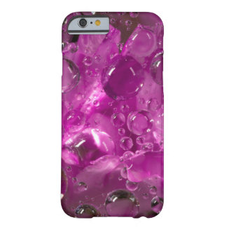 Water drops on flower, California Barely There iPhone 6 Case