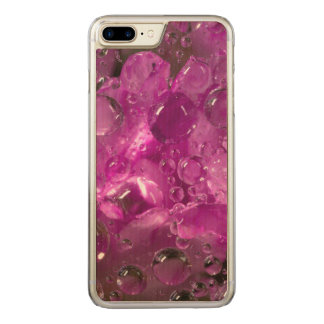 Water drops on flower, California Carved iPhone 7 Plus Case