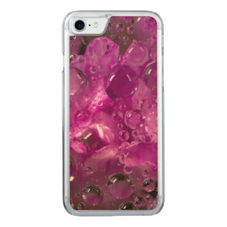 Water drops on flower, California Carved iPhone 8/7 Case