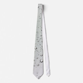 Water Drops on Glass Tie
