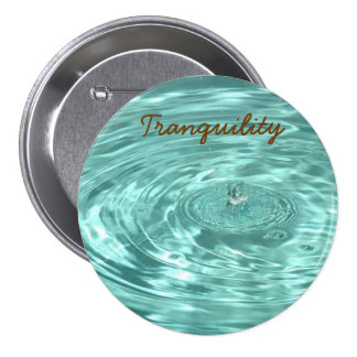 Water drops raindrops ripples Tranquility Button