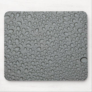 Water drops texture mouse pad