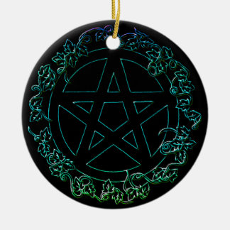 Water Element Pagan Pentacle Ornament