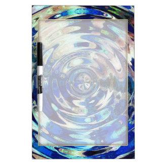 WATER Element Ripple Pattern Dry-Erase Boards