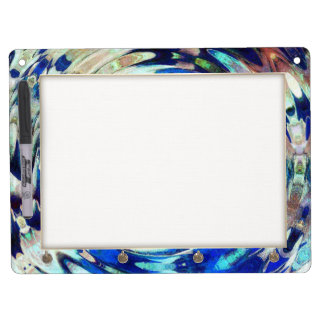 WATER Element Ripple Pattern Dry-Erase Whiteboard